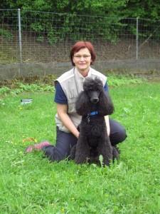 Gaby mit Aurelia